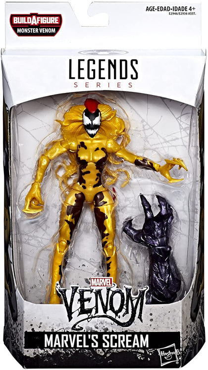 Marvel Legends - Monster Venom BAF - Venom - Marvel's Scream Action Figure (E2946)