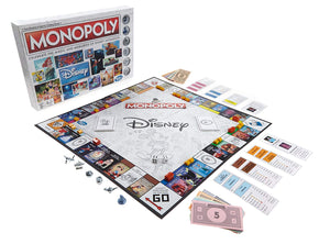 Hasbro Gaming - Monopoly: Disney Animation Edition Board Game