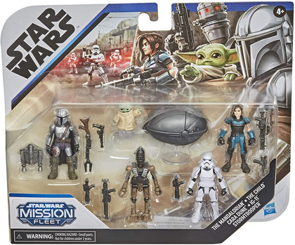 Star Wars: Mission Fleet - The Mandalorian - Defend the Child (F1198) Play Set