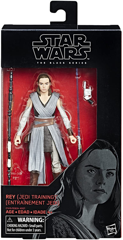 Star Wars - The Black Series 44 - Rey (Jedi Training) Action Figure C1415