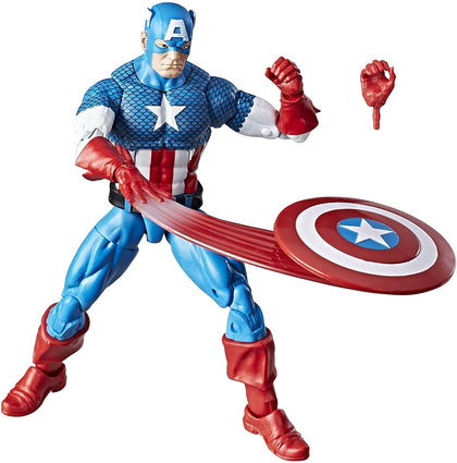 Marvel Legends - Retro Collection - Series 1 - Captain America (E3997) Action Figure