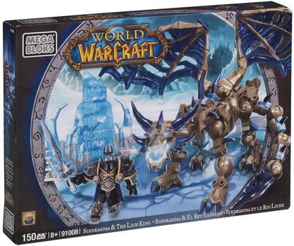 Mega Bloks - World of Warcraft - Sindragosa & The Lich King Construction Set (91008) Retired