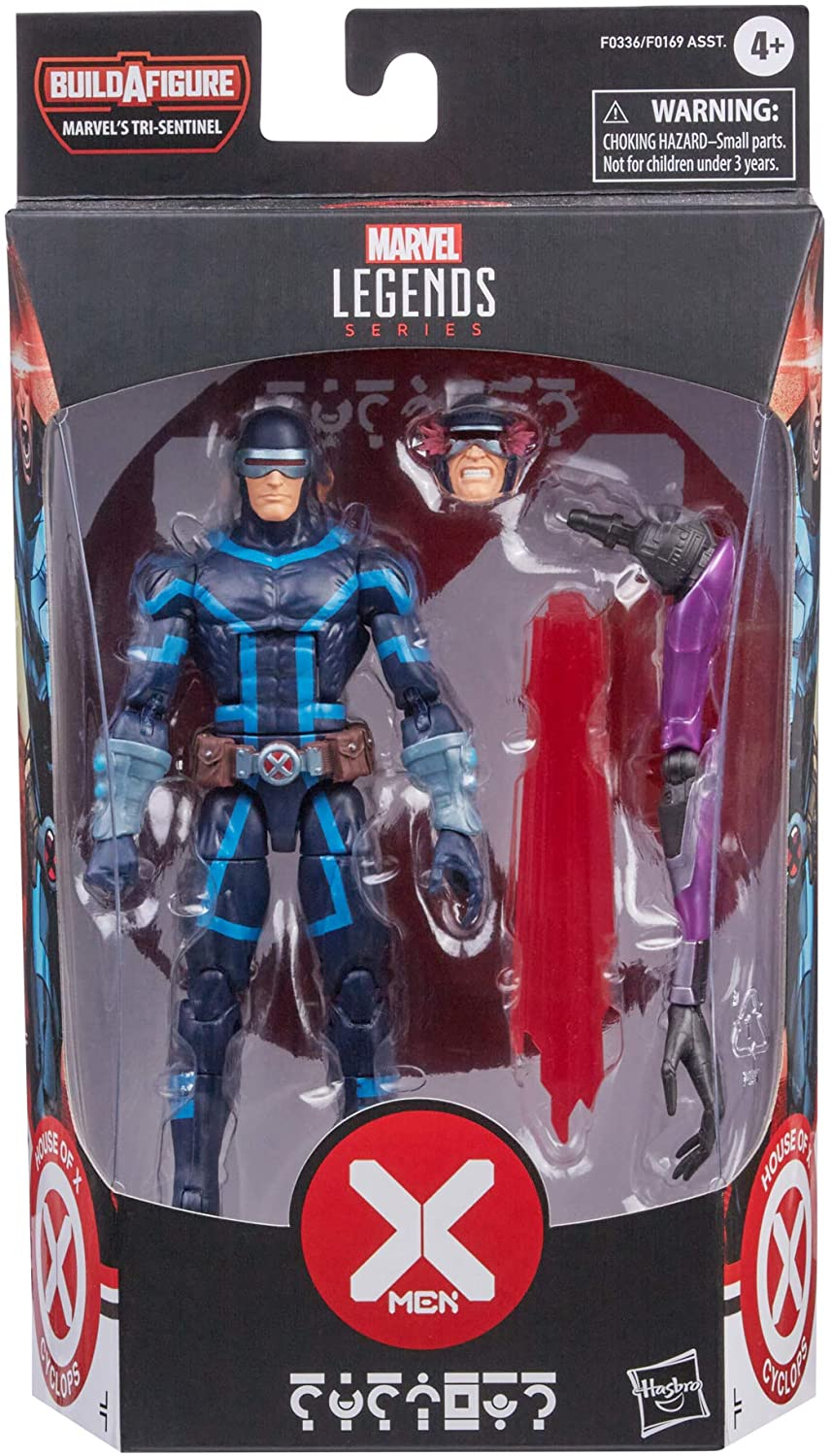 Marvel Legends X-Men - Marvel's Tri-Sentinel BAF - House of X - Cyclops Action Figure (F0336)