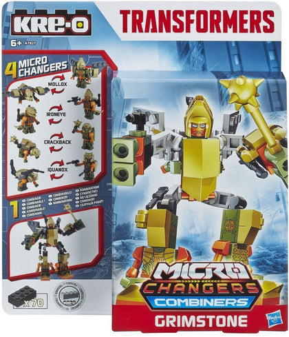 KRE-O Transformers - Micro Changers Combiners - Grimstone (A7827) Building Toy