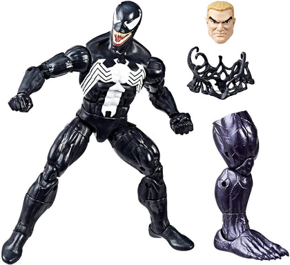 Marvel Legends - Monster Venom BAF - Venom - Venom 6-Inch Action Figure (E2942)