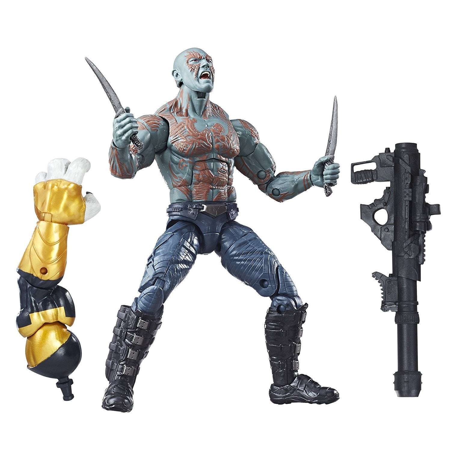 Marvel Legends - Marvel's Titus BAF - Guardians of the Galaxy Vol. 2 - Drax Action Figure (C0618)