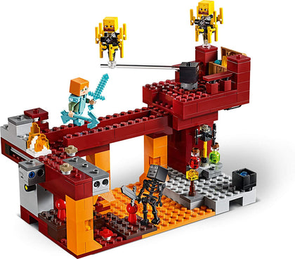 LEGO Minecraft - The Blaze Bridge (21154) Building Toy