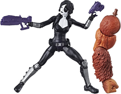 Marvel Legends - Marvel's Sasquatch Series - Deadpool - Marvel's Domino 6 inch Action Figure (E1567)