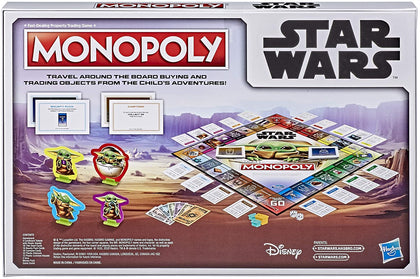 Hasbro Gaming - Monopoly Star Wars - The Mandalorian Board Game