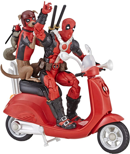 Marvel Legends - Ultimate Riders - Deadpool Corps (E4702) Action Figure