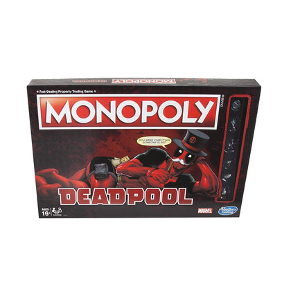 Hasbro Gaming - Monopoly: Deadpool Edition Board Game