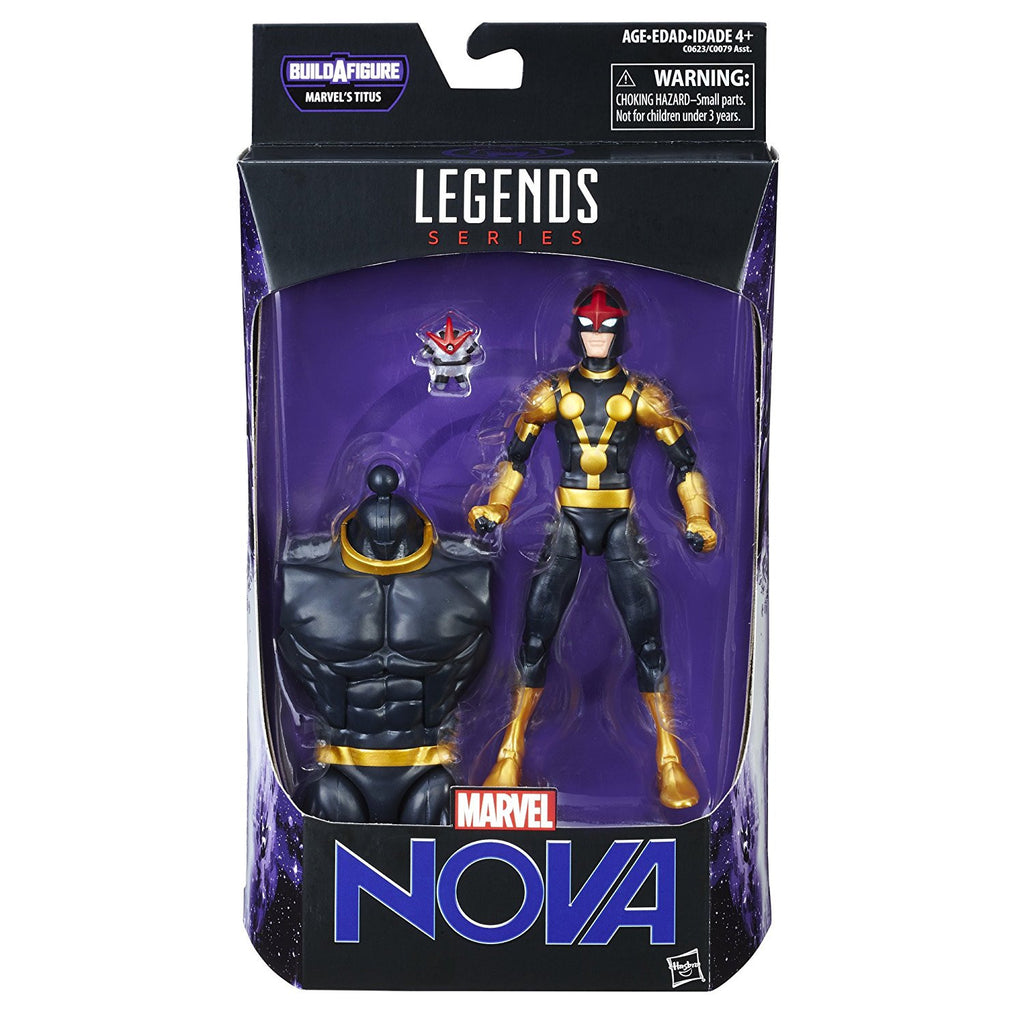 Marvel Legends - Marvel's Titus BAF - Guardians of the Galaxy Vol. 2 - Kid Nova Action Figure (C0623)