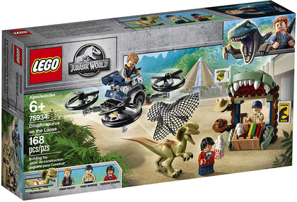 LEGO Jurassic World - Dilophosaurus on the Loose (75934) Building Toy