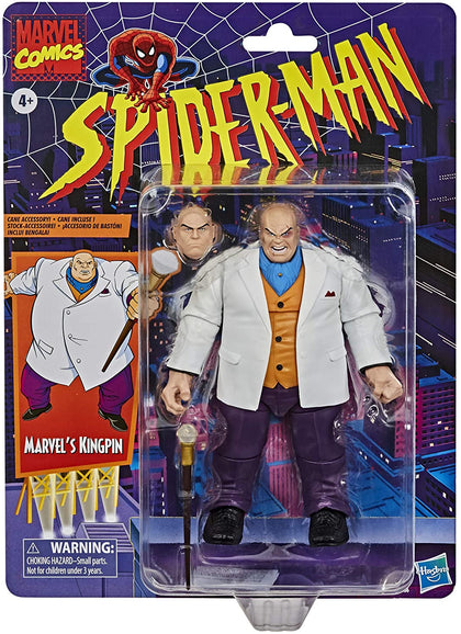 Marvel Retro Collection - Spider-Man - Marvel's Kingpin (E9636) Action Figure