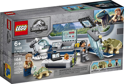LEGO Jurassic World - Dr. Wu's Lab: Baby Dinosaurs Breakout (75939) Building Toy