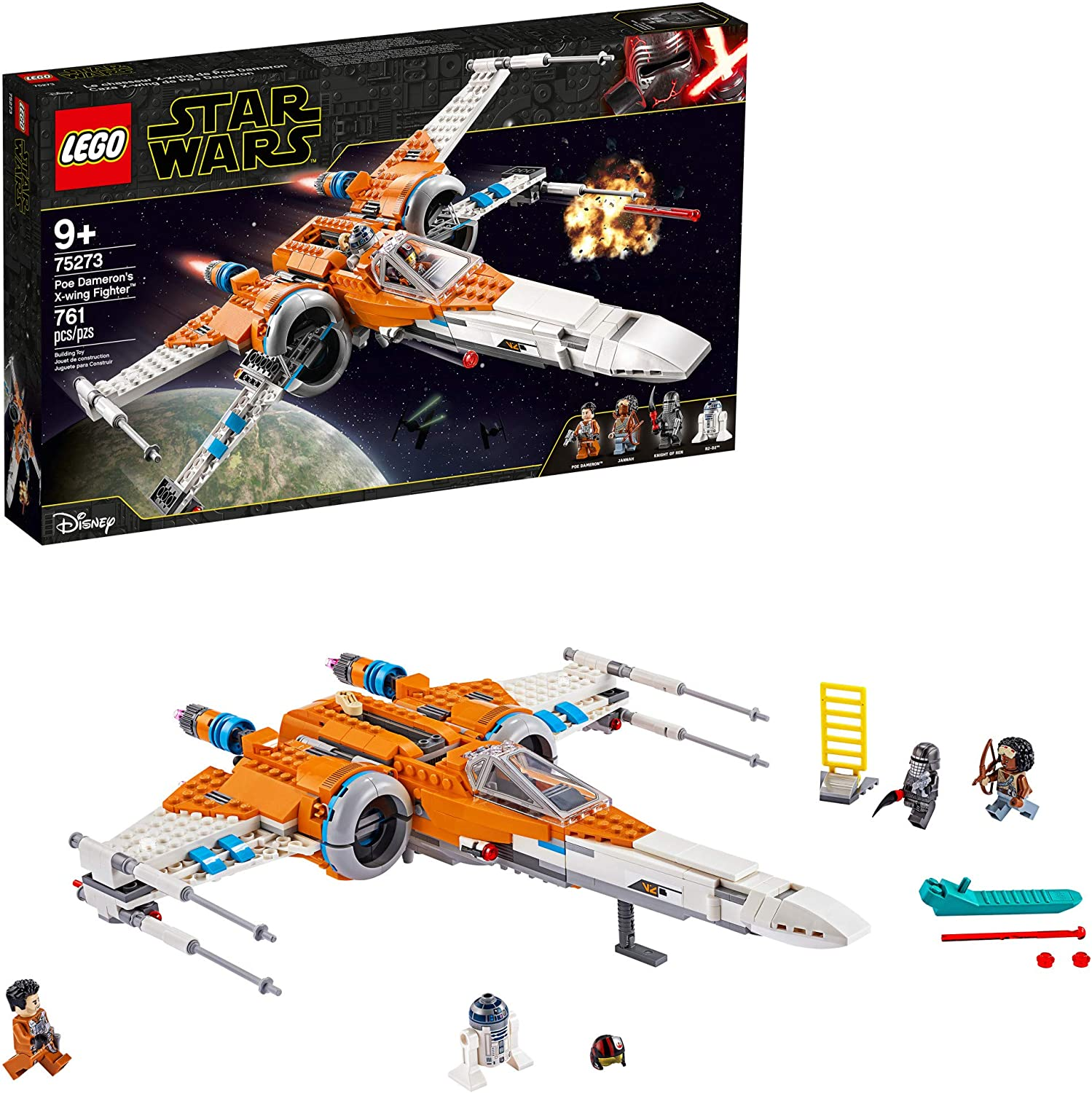 LEGO Star Wars - Poe Dameron's X-Wing Fighter (75273) Building Toy