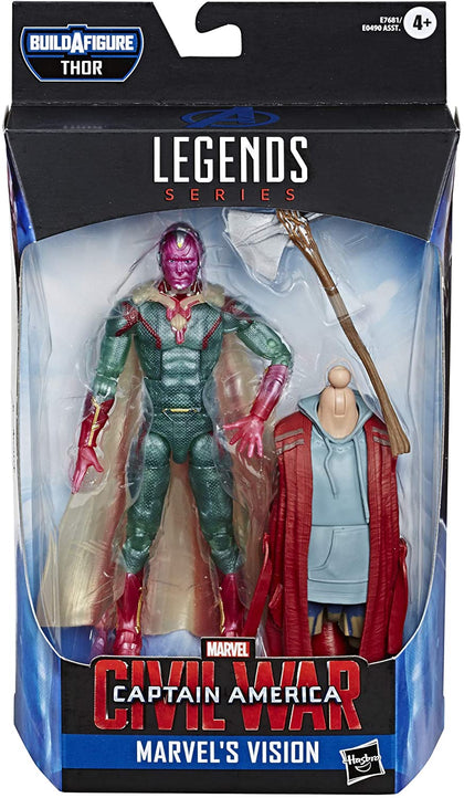 Hasbro - Marvel Legends - Captain America Civil War - Thor BAF - Marvel's Vision (E7681)