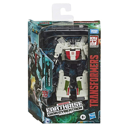 Transformers Generations - War for Cybertron: Earthrise - Wheekjack Action Figure (WFC-E6)