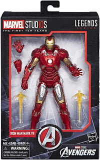 Marvel Legends - Marvel Stud10s: The First Ten Years - Iron Man Mark VII (E2441) Action Figure