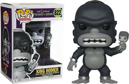 Funko Pop! Television - The Simpsons Treehouse of Horrors #822 - King Homer Vinyl Figure