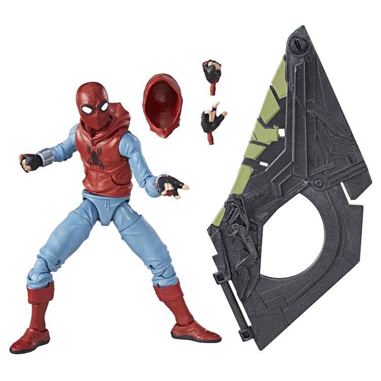 Marvel Legends - Vulture Flight Gear BAF - Homemade Proto-Suit Spider-Man 6-inch Action Figure (C1478)