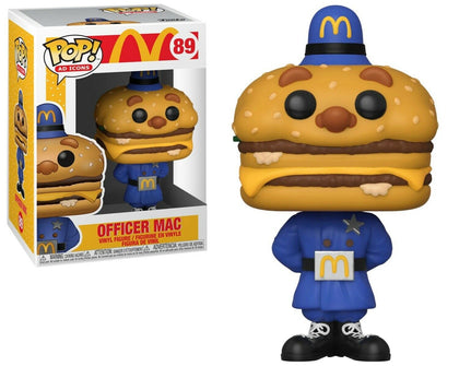Funko Pop! Ad Icons #89 - McDonalds - Officer Mac Vinyl Figure