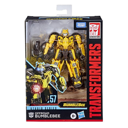 Transformers - Studio Series 57 Deluxe Class - Bumblebee Movie - Offroad Bumblebee Action Figure (E8288)