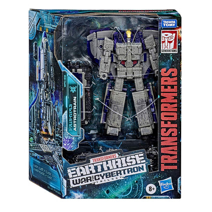 Transformers Generations - War for Cybertron: Earthrise - Astrotrain Action Figure (WFC-E12)