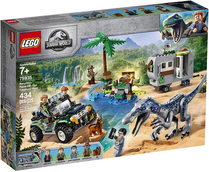 LEGO Jurassic World - Baryonyx Face-Off: The Treasure Hunt (75935) Building Toy
