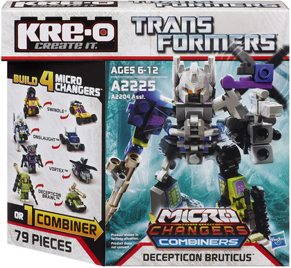 KRE-O Transformers - Micro Changers Combiners - Decepticon Bruticus (A2225) Building Toy