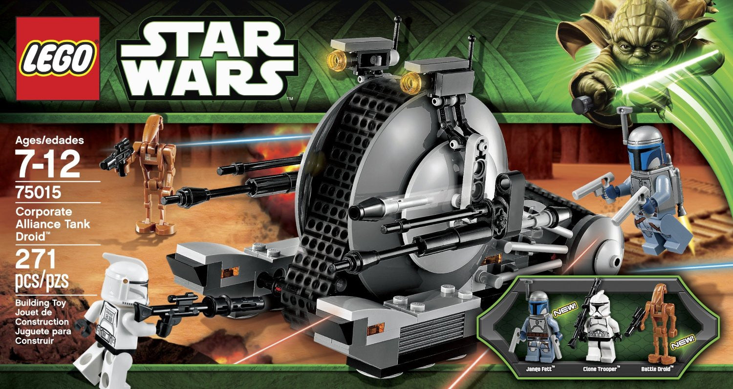 LEGO Star Wars - Corporate Alliance Tank Droid (75015)