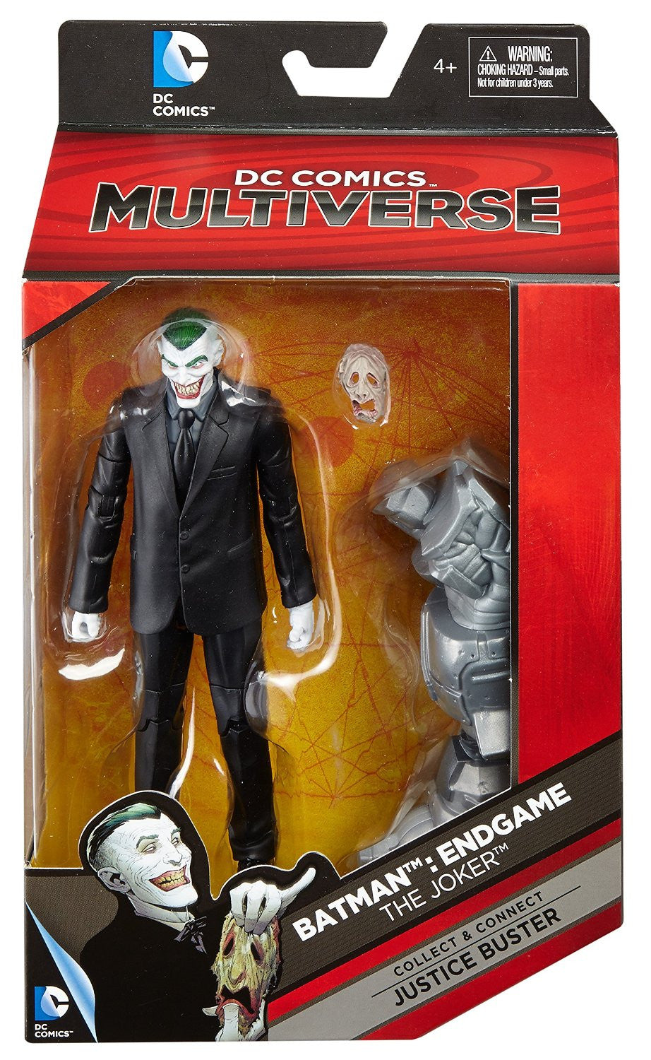 DC Comics Multiverse - Justice Buster BAF - The Joker (Endgame) Action Figure (DKN39)