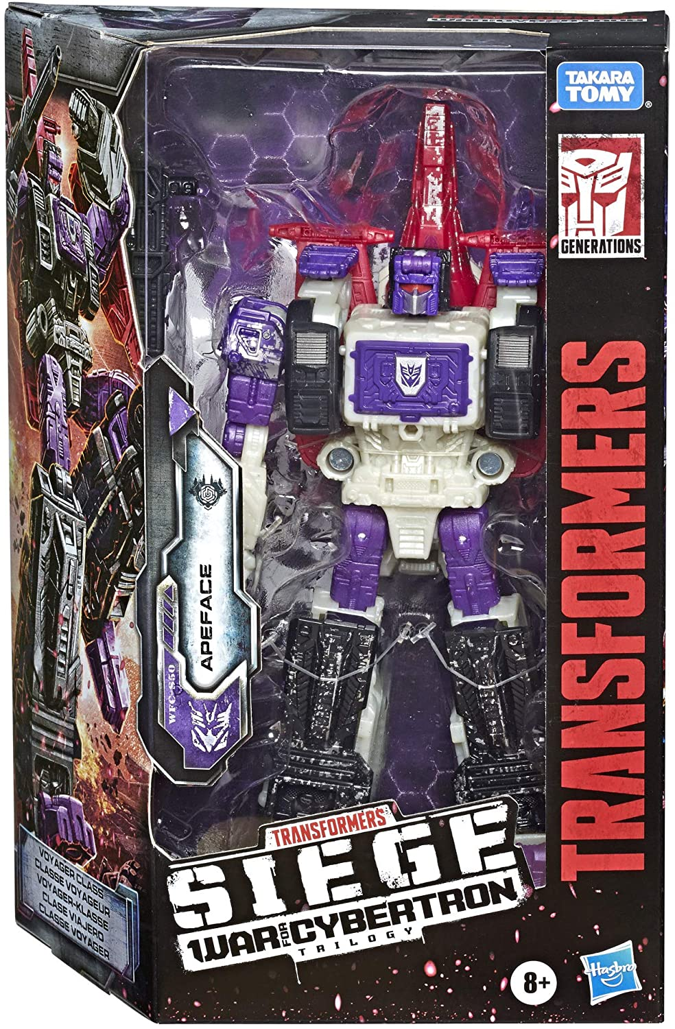 Transformers - War for Cybertron: SIEGE - Apeface Action Figure (WFC-S50)