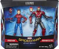 Marvel Legends - Marvel's Spider-Man: Homecoming - Spider-Man & Iron Man Sentry (C3501) Action Figures
