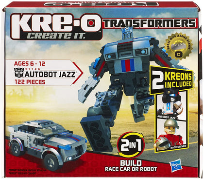 KRE-O Transformers - Autobot Jazz (31146) Building Toy