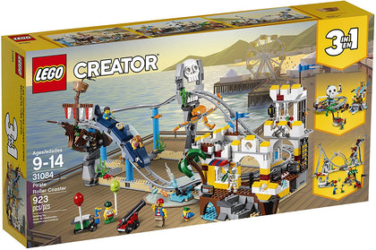 LEGO Creator - Pirate Roller Coaster (31084) 3-in-1 Building Toy *RETIRED*