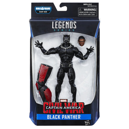 Marvel Legends - Giant Man BAF - Captain America: Civil War - Black Panther Action Figure (B6874)