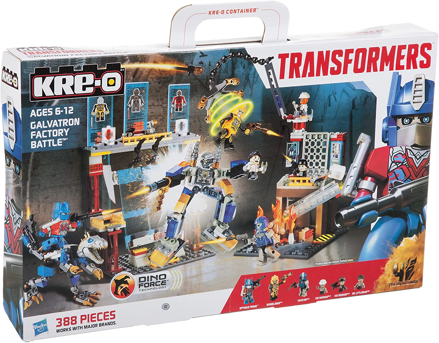 KRE-O Transformers - Age of Extinction - Galvatron Factory Battle (A6952) Building Toy