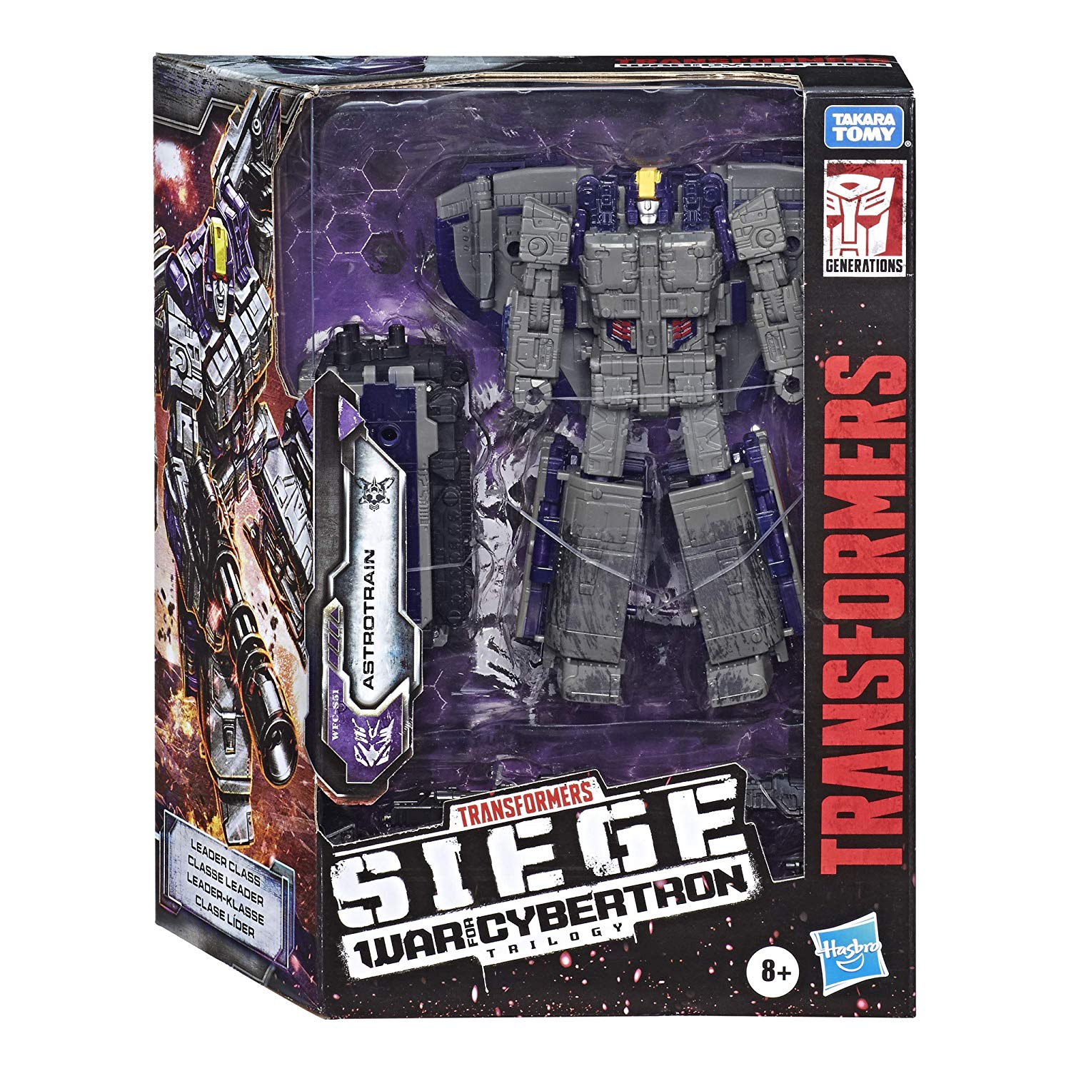 Transformers - War for Cybertron: SIEGE - Astrotrain Action Figure (WFC-S51)