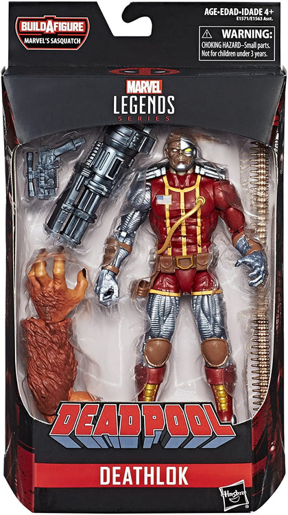 Marvel Legends - Marvel's Sasquatch Series - Deadpool - Deathlok Action Figure (E1571)
