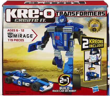 KRE-O Transformers - Mirage (31145) Building Toy