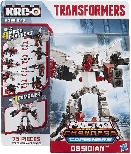 KRE-O Transformers - Micro Changers Combiners - Obsidian (A7829) Building Toy