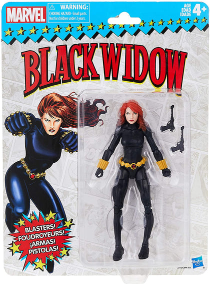 Marvel Legends - Retro Collection - Series 1 - Black Widow (E3999) Action Figure