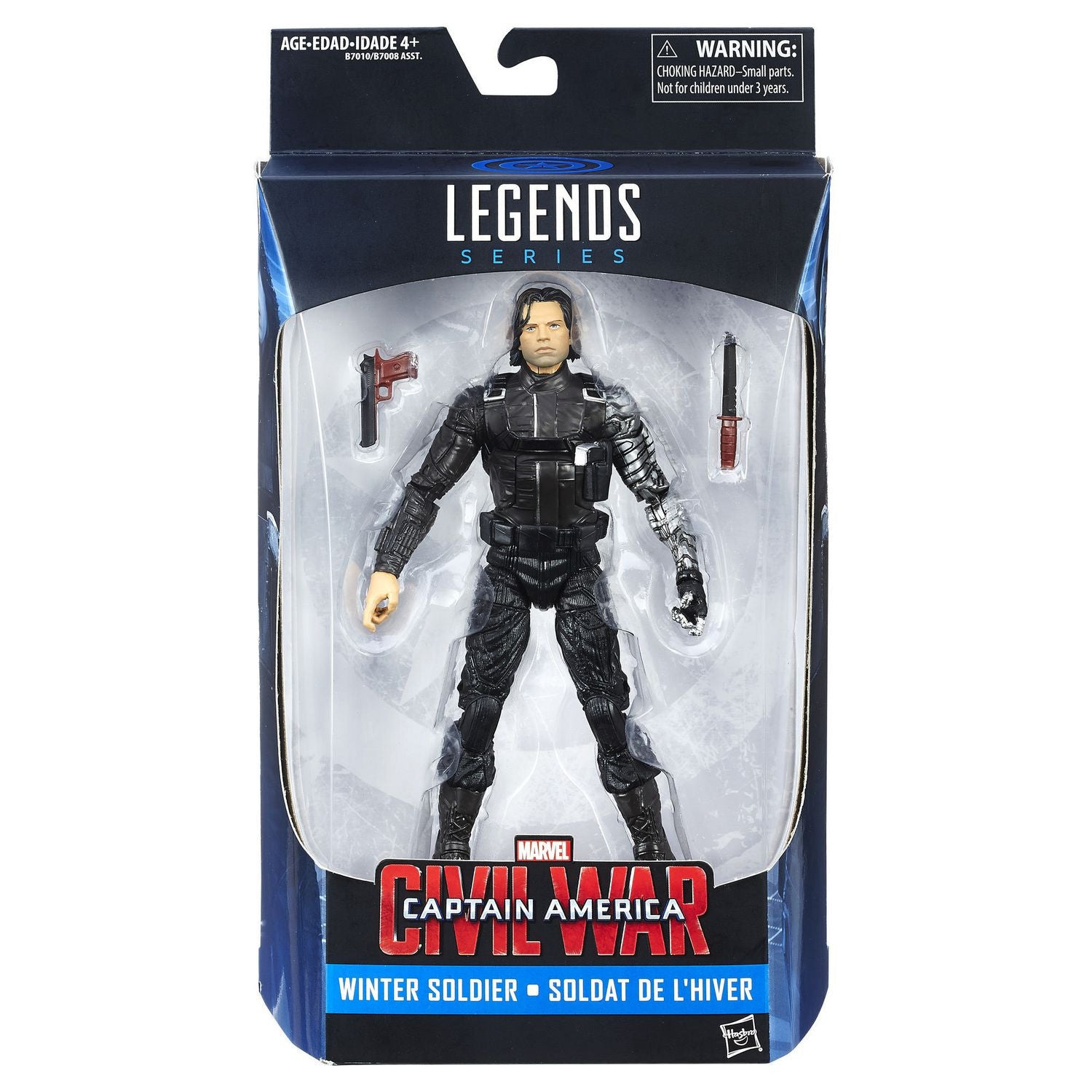 Marvel Legends Infinite - Captain America: Civil War - Winter Soldier 6-Inch Action Figure