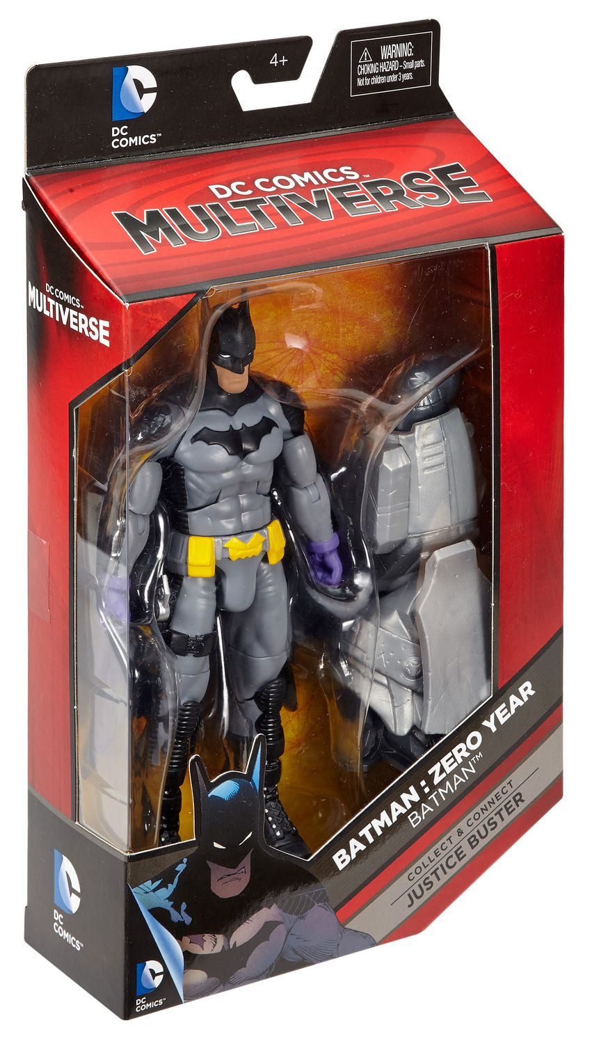 DC Comics Multiverse - Justice Buster BAF - Batman: Zero Year - Batman Action Figure (DKN38)