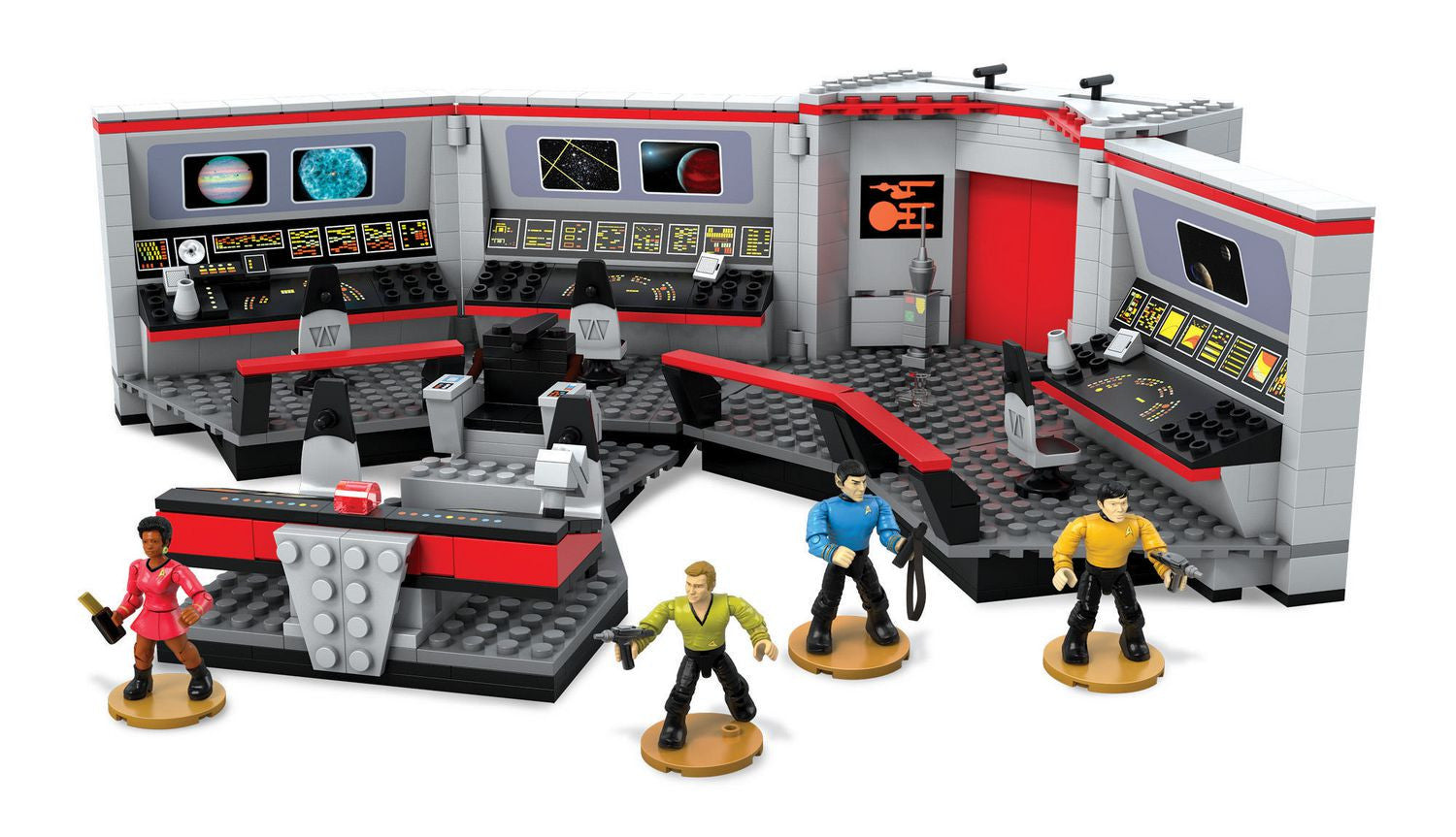 Mega Bloks - Star Trek - U.S.S. Enterprise Bridge Collector Construction Set (DPH82)