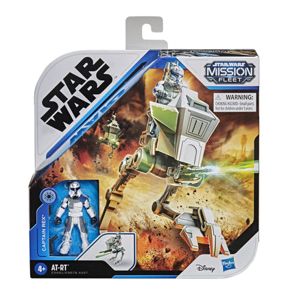 Star Wars: Mission Fleet - Captain Rex - AT-RT (E9681) Play Set