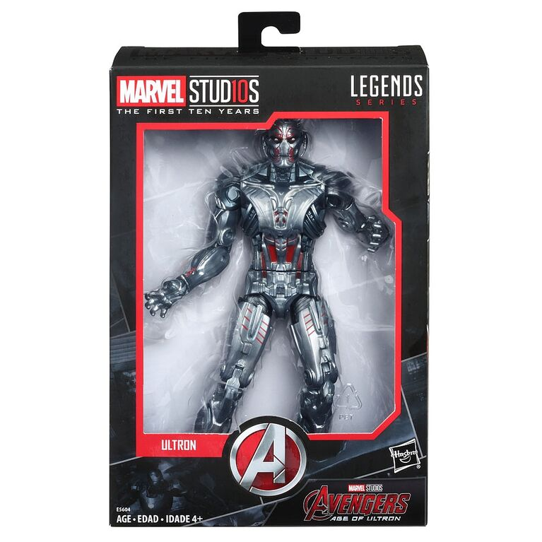 Marvel Legends - Marvel Stud10s: The First Ten Years - Ultron (E5604) Action Figure