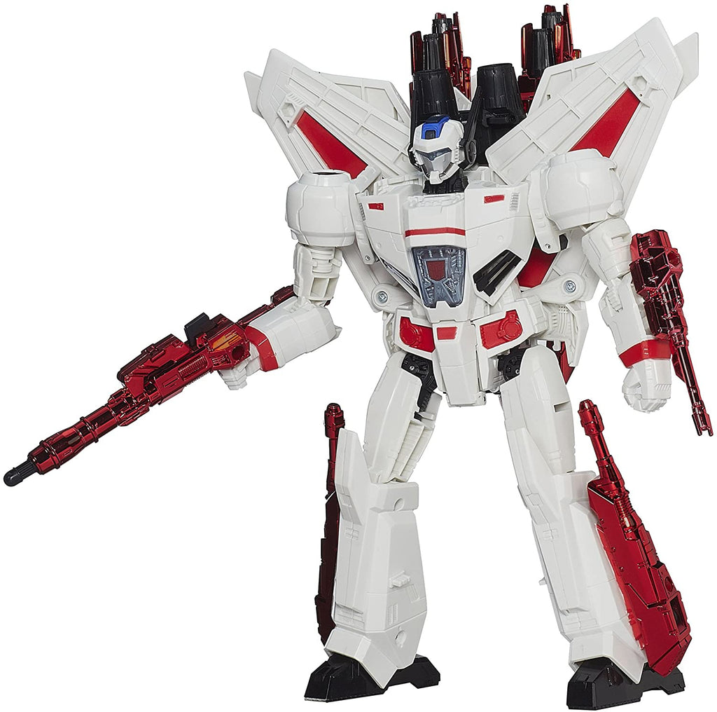 Hasbro - Transformers Generations - Thrilling 30 2014 - Leader Class - Jetfire Action Figure (A7297)
