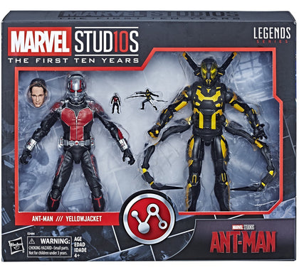 Hasbro - Marvel Legends - Marvel Studios First Ten Years #8 - Ant-Man + Yellowjacket (E2484)